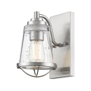 Great choice Crowder 1-Light Armed Sconce By Breakwater Bay