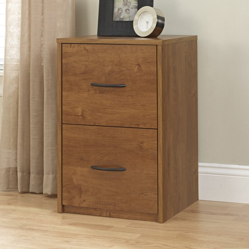 Symple Stuff 2 Drawer File Cabinet Reviews Wayfair