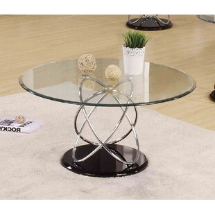Talkington Contemporary Round Living Room Coffee Table