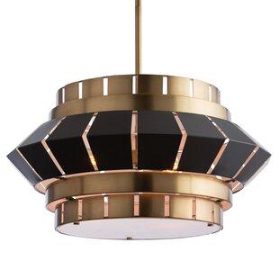 3-Light Geometric Chandelier by ARTERIORS