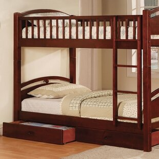 Price comparison Wycombe Twin Bunk Bed with Drawers by Harriet Bee Reviews (2019) & Buyer's Guide
