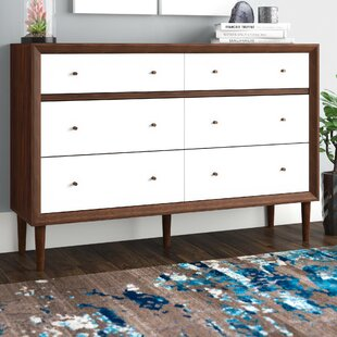 Langley Street Sunset 6 Drawer Double Dresser
