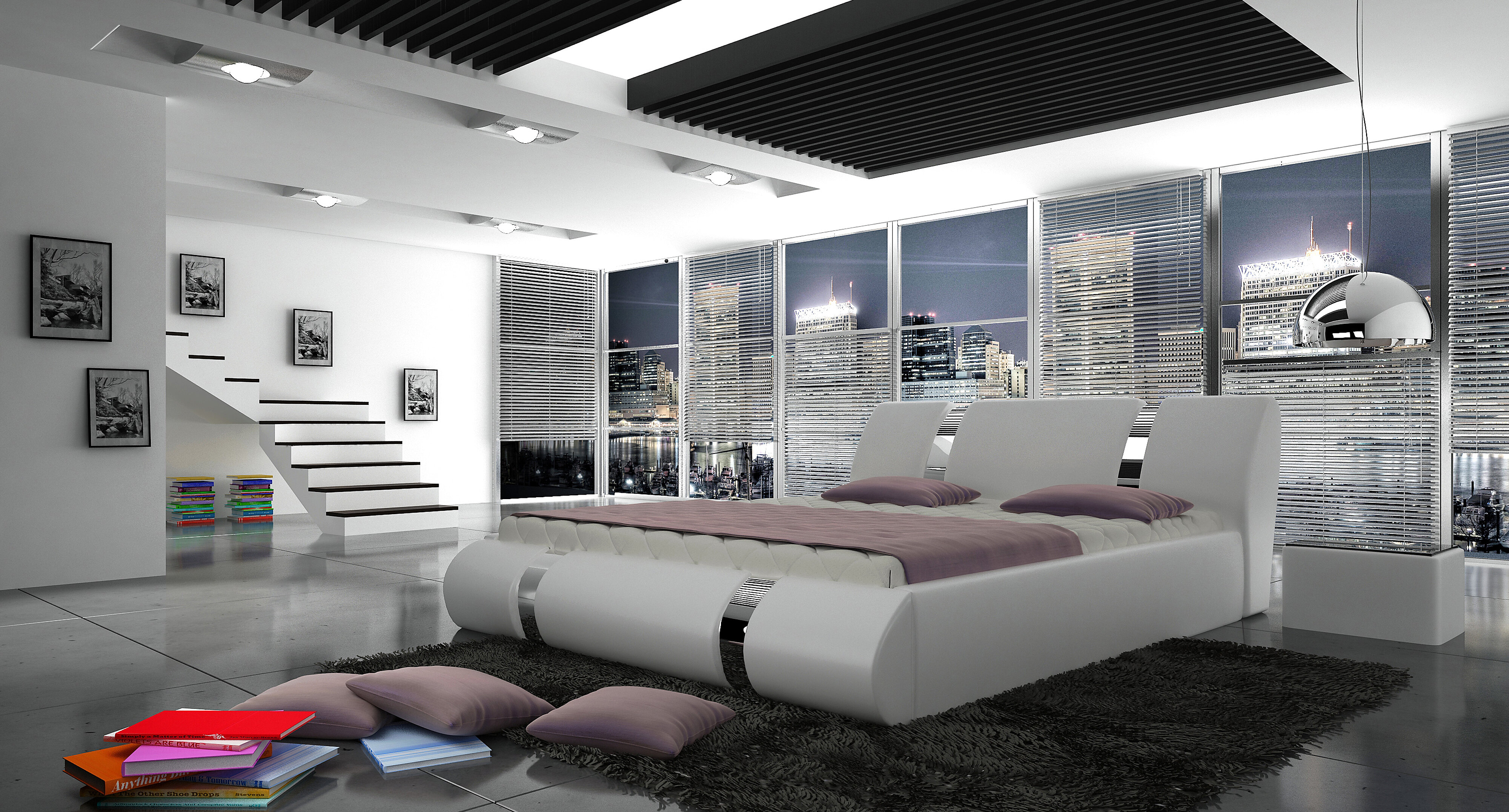 Orren Ellis Duke European Kingsize Storage Platform Bed With Mattress Wayfair