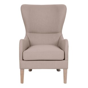 Elle Wingback Chair by Elle Decor
