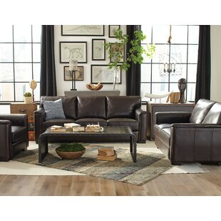 Red Barrel Studio Giovanni Leather Configurable Living Room Set