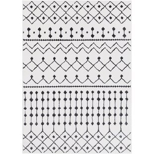 Tupper Global-Inspired White Area Rug By Gracie Oaks