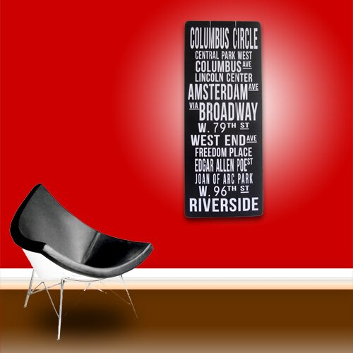 Vandue Corporation Modern Home Retro Subway Sign - New York City ...