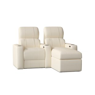 Home Theater Configurable Seating Row of 2 by Red Barrel Studio