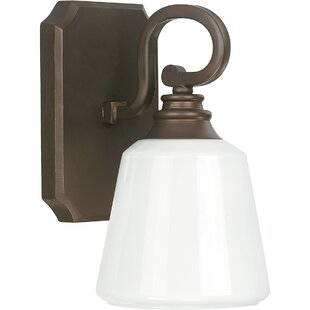 Coopersburg 1-Light Bath Sconce by Charlton Home
