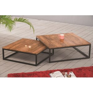 Padmini 2 Piece Coffee Table Set