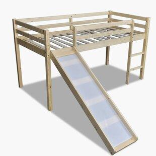 Jackson Children's Toddler High Sleeper Bed by Viv   Rae