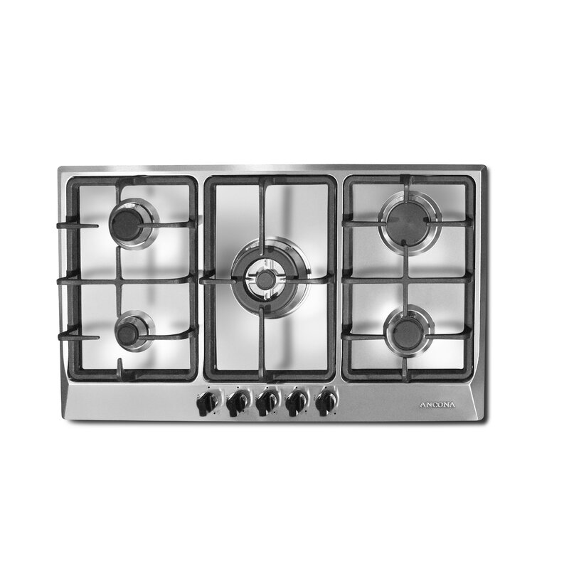 """Ancona 34"""" Gas Cooktop with 5 Burners"""