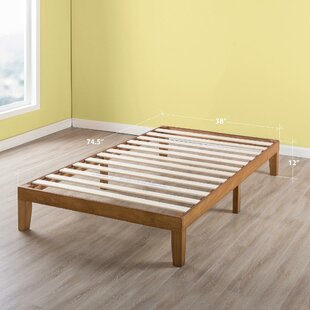 Solid Wood Bed Frames Youll Love Wayfair