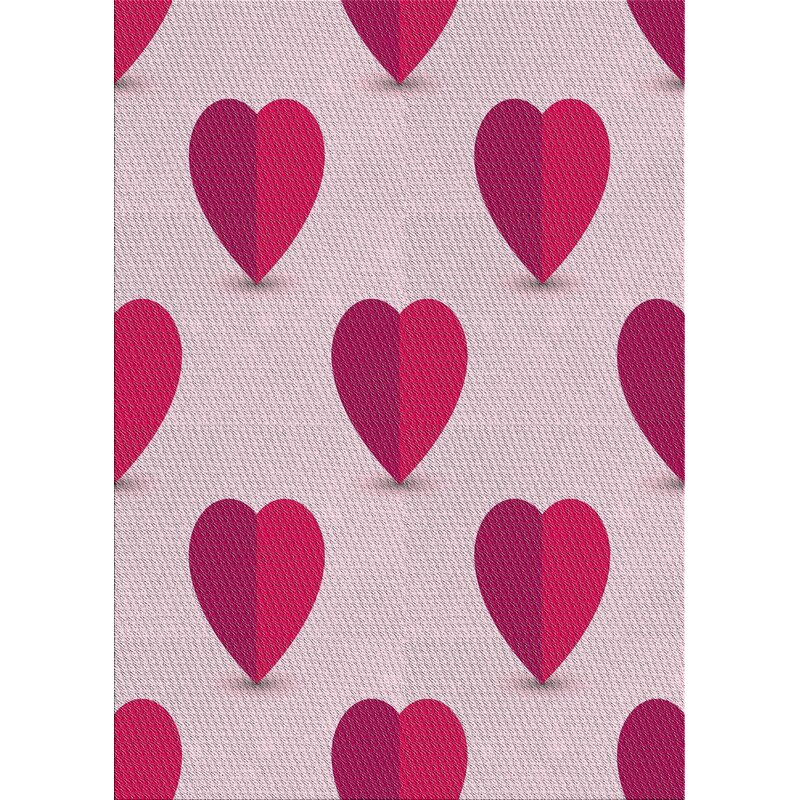 East Urban Home Patterned Pink Baby Pink Area Rug Wayfair
