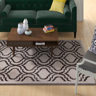 Rorie Contemporary Brown/White Area Rug ByWrought Studio