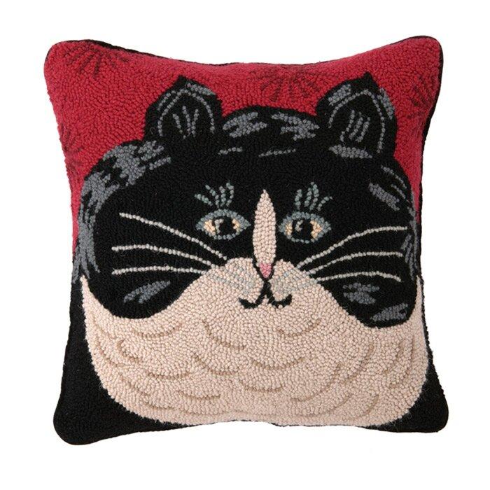 Red Barrel Studio Dendy Jellicle Wool Throw Pillow Reviews Wayfair