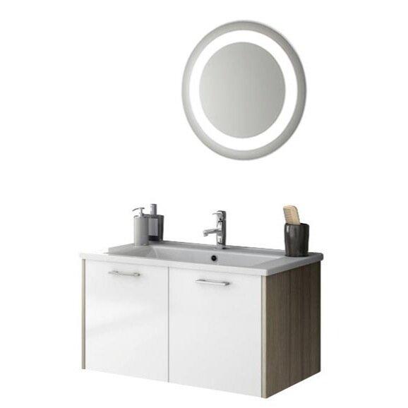 Acf Nico 34 Single Bathroom Vanity Set With Mirror Wayfair