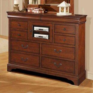 Darby Home Co Riegel 8 Drawer Standard Dresser Image