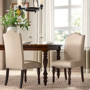 Inexpensive Calila Upholstered Dining Chair (Set of 2) by Birch Lane™ Heritage Reviews (2019) & Buyer's Guide