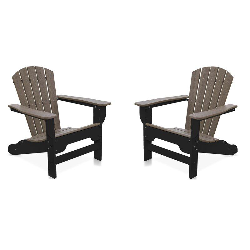 Willene Plastic Adirondack Chair