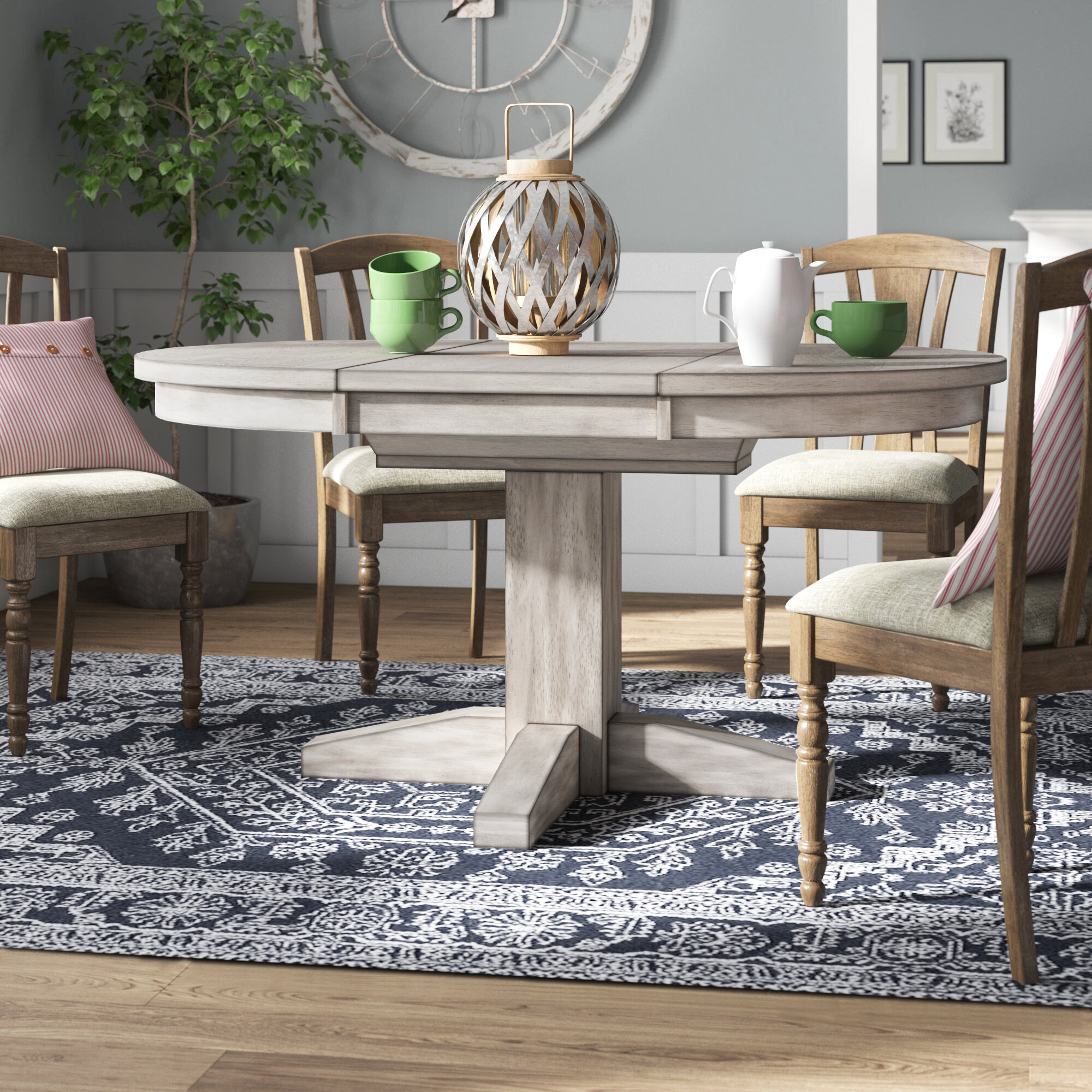 Butterfly Leaf Round Kitchen Dining Tables You Ll Love In 2021 Wayfair
