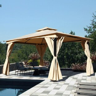 Grand Patio 10 Ft. W x 14 Ft. D All-Season Metal Patio Gazebo