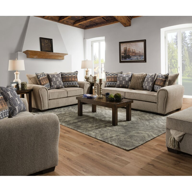 Red Barrel Studio Aveline Configurable Living Room Set Reviews Wayfair