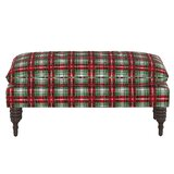 Anoka Pillowtop Upholstered Bench by Loon Peak®