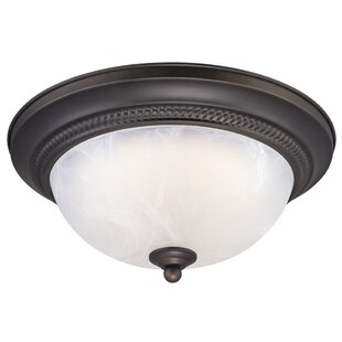 Mosher 1-Light LED Flush M..