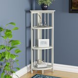 Duerr Corner Bookcase by Charlton Home®