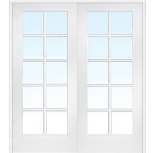 MDF 2 Panel Primed Interior French Door