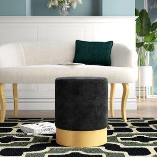 Fine Fredson Velvet Ottoman Inzonedesignstudio Interior Chair Design Inzonedesignstudiocom
