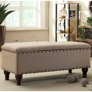 Lattimer Upholstered Storage Bedroom Bench Design