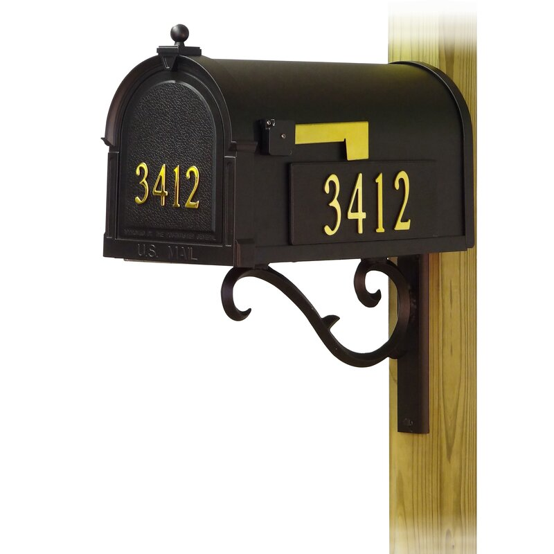 Special Lite Products Berkshire Curbside Post Mounted Mailbox Wayfair