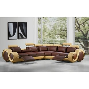 Luthersville Symmetrical Reclining Sectional
