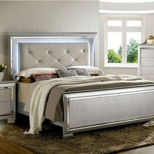 Rosdorf Park Sidney Upholstered Panel Bed