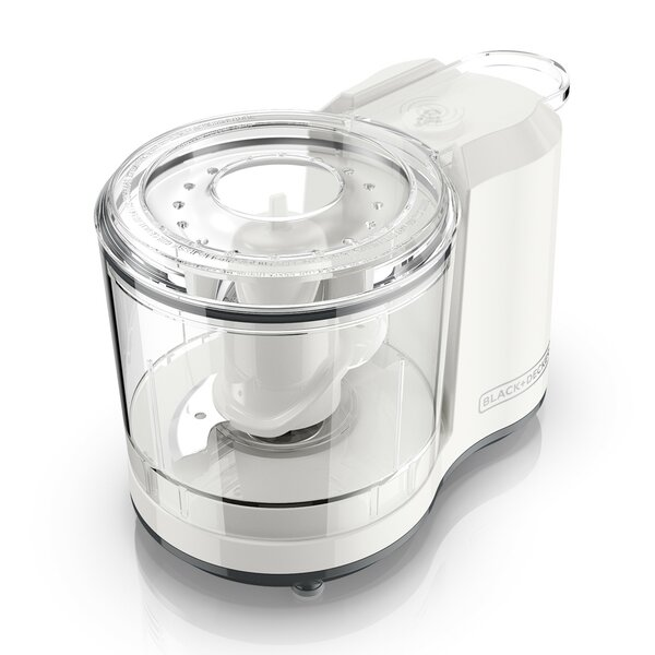 NEW 1.5 Cup One-Touch Pulse Stainless Steel Blade Mini Food Chopper Dicer Slicer