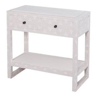 Tina Wrapped 2 Drawer Nightstand