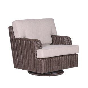 Vicki ClubSwivelGlider Chair with Cushions by Latitude Run