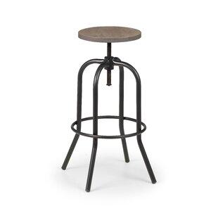 Boyes Height Adjustable Swivel Bar Stool By Williston Forge