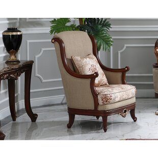 Quiana Wingback Chair by Astoria Grand