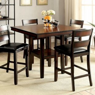 Red Barrel Studio RJ 5 Piece Counter Height Dining Set