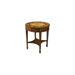 Aged Regency End Table
