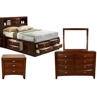 Corktown Platform 4 Piece Bedroom Set