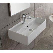 Small Wall Mount Bathroom Sinks You Ll Love In 2021 Wayfair