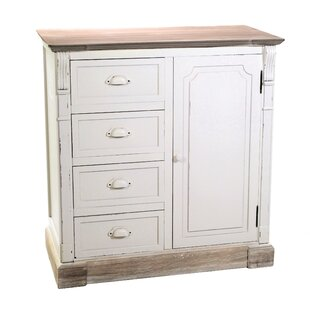 Pauletta 4 Drawers Combi Chest By Brambly Cottage