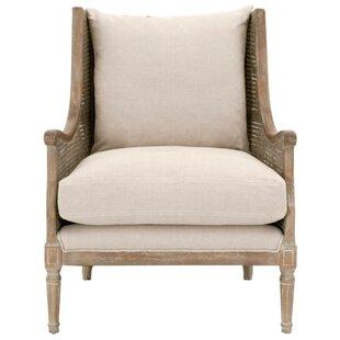 One Allium Way Teagan Wooden Arm Chair