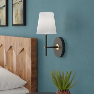 Solomon 1-Light LED Armed Sconce By Langley Street Wall Lights