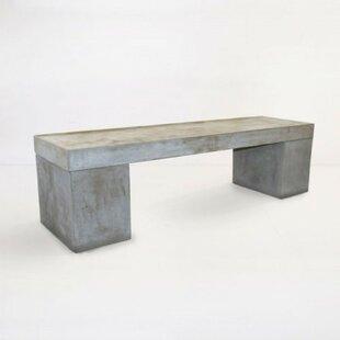 17 Stories Shelbi Concrete Bench