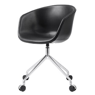 Meelano Leather Desk Chair